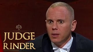 Download Judge Rinder Becomes Enraged With a Father of 40 | Judge Rinder Video
