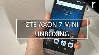 Download ZTE Axon 7 Mini Unboxing: A not-so-mini Moto G4 rival Video