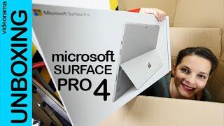 Download Microsoft Surface Pro 4 unboxing en español Video