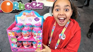 Download NEW Orbeez Wow World Surprise Presents NYC Toy Fair | Toys AndMe Video