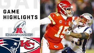 Download Patriots vs. Chiefs AFC Championship Highlights | NFL 2018 Playoffs Video