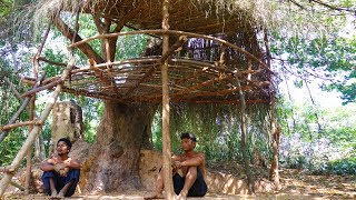 Download Primitive Tool : Build Primitive Tree House In Forest Video