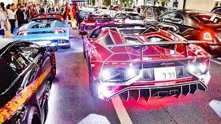 Download 【電飾!!爆音!!】ド派手なランボルギーニ30台がハロウィンの都内を走る!!/Lamborghini Halloween Parade!! Video