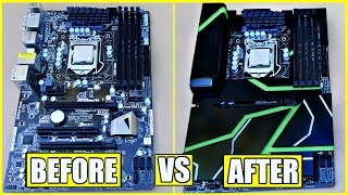 Download How to Make A DIY Acrylic Motherboard Armor + Paint The Plexiglass Video
