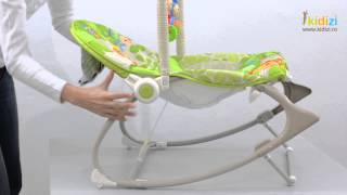 Download Fisher-Price Balansoar 2 in 1 Infant to Toddler Rainforest Friends Video