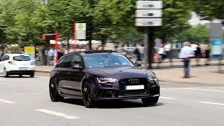 Download Audi RS6 Launch Controls and crazy backfire!! Video