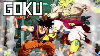 Download DBFZ: Base Goku Combos + Hype! (100% Combo!) Video
