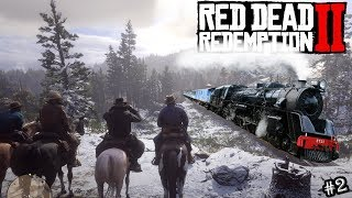 Download Red Dead Redemption 2 Full Game Part 2 - Train Robbery & A Gun Fight - #RDR2 Walkthrough PS4 Pro Video
