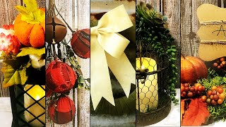 Download TOP FIVE FALL AND CHRISTMAS DIY DOLLAR TREE PROJECTS FROM OCTOBER 2019 Video