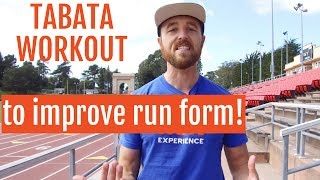 Download Instantly Improve Running Form with this Tabata Workout Video