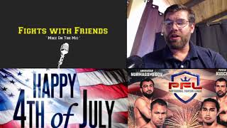 Download PFL 3 Professional Fighters League 6 fight super breakdown for July 5 card! Video