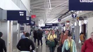 Download A Tour of Detroit Metropolitan Airport's Mile-Long Terminal A (September 2013) Video