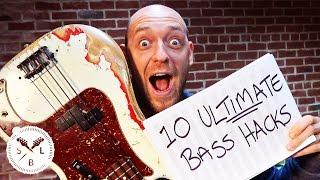 Download Top 10 ULTIMATE Bass Guitar Hacks... in Under 10 Minutes! Video