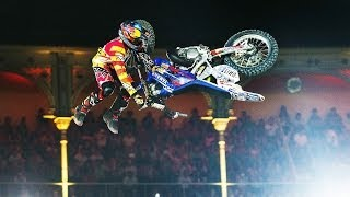 Download Historic Bike Flip in FMX competition - Red Bull X-Fighters Madrid 2014 Video