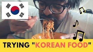 Download وأنا أجرب الحلويات والأكلات الكورية لأول مرة Korean Food Tasting Video