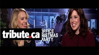 Download Kate McKinnon & Vanessa Bayer - Office Christmas Party Interview Video