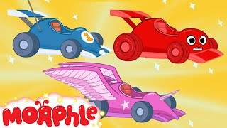 Download Race Car Morphle and The kids Super Heroes! My Magic Pet Morphle Animations For Kids Video