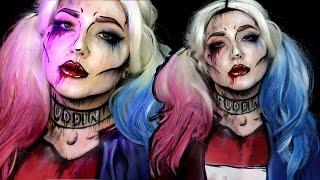 Download Pop Art Suicide Squad Harley Quinn Halloween Makeup Tutorial Video
