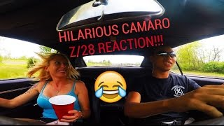 Download My MOM's HILARIOUS REACTION to my 1968 Z/28 Camaro!!! Video
