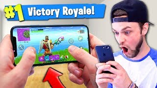 Download *NEW* MOBILE Fortnite: Battle Royale GAMEPLAY! (Victory Royale) Video