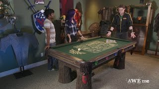Download Pool Table Fit for Legend of Zelda™! - Super-Fan Builds Video