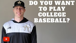 Download Do You Want To Play College Baseball? Watch This!!! Video