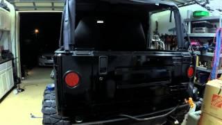 Download Jeep TJ LED Tail Light Conversion Video