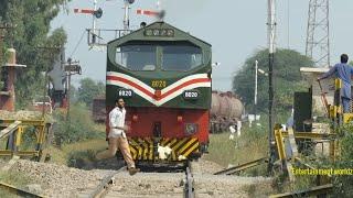 Download Pakistan Railways | AGE-30 6020 with Dn Cm A3 Oil Train departure Faisalabad Dry Port | 12.10.2018 Video
