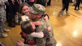 Download Families thankful after Fort Carson Homecoming Video