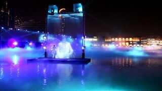Download Dubai Water, Fire & Light Show - Dubai Fountain / Dubai Mall Video