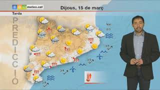 Download Predicció general per a dijous 15-03-2018: Inestabilitat en augment Video