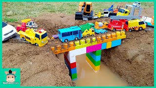 Download Tayo Bus Car toy videos for kids | Excavator, Truck, Mega Bloks, Nursery Rhymes Song | MariAndToys Video