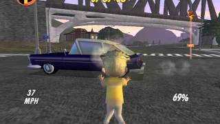 Download The Incredibles Video Game Walkthrough Part 5 - Late For School Video