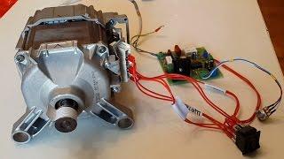 Download Как регулировать обороты двигателя от стиральной машины Video