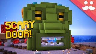 Download Making the SCARIEST PISTON DOOR in Minecraft 1.13! Video
