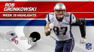 Download Rob Gronkowski Highlights   Patriots vs. Steelers   NFL Wk 15 Player Highlights Video
