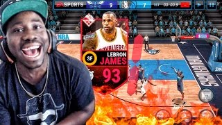 Download SUPREMACY LEBRON JAMES FULL COURT BUZZER BEATER! NBA Live Mobile 16 Gameplay Ep. 15 Video