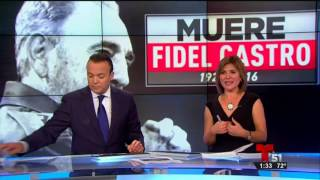 Download MUERE FIDEL CASTRO. EXILIO CELEBRA. DIRECTO DESDE MIAMI Video