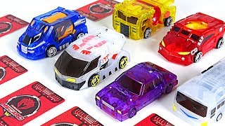Download Turning Mecard W S2 new product! Dora, Araghe, Trem, Pukin, Volca, Bucky, Wing Lion! - DuDuPopTOY Video