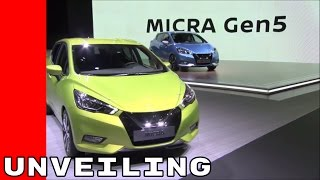 Download 2017 Nissan Micra Unveiling, Test Drive, and Interior Video