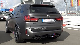 Download DRAG RACE: 735HP G-POWER BMW X5 M Video
