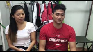 Download Athletes Yip Pin Xiu and Joseph Schooling on being involved in NDP this year Video