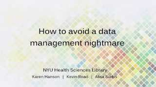 Download How to avoid a data management nightmare Video