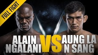 Download ONE: Full Fight | Aung La N Sang vs Alain Ngalani | Historic Open Weight Super-Bout | November 2017 Video