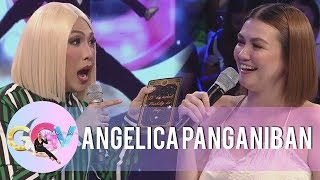 Download Angelica Panganiban tests her luck on ″Charot Cards″   GGV Video