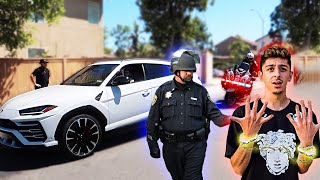 Download FaZe Rug pulled over by a cop!! **On Camera** Video