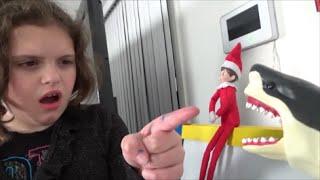 Download Shark Attacks Elf On A Shelf ″Toy Freaks Love Santa Claus & Sharks″ Video