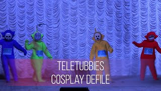 Barney The Dinosaur & Tinky-Winky The Teletubby VS Superman & Spider