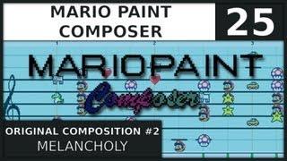 Download Mario Paint Composer | Original Composition #2 | Melancholy Video