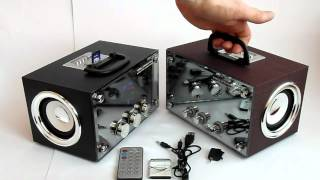 Download Музыкальный бумбокс RX-83 & RX-81 Видеообзор от Электробума! Video